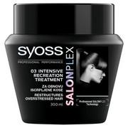 SYOSS SalonPlex Intensive Recreation Treatment odbudowująca maska do włosów zniszczonych 300ml SYOSS
