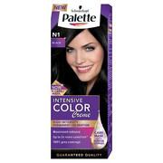 PALETTE Intensive Color Creme farba do włosów w kremie N1 Black PALETTE