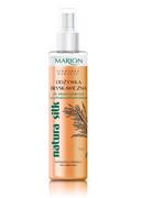 MARION Natura Silk błyskawiczna dwufazowa odżywka do włosów łamliwych i z rozdwojonymi końcówkami 150ml MARION
