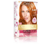 L'OREAL PARIS Excellence Creme farba do włosów 7.43 Blond Miedziano-Złocisty L'ORÉAL PARIS
