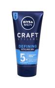 NIVEA Defining Men Craft Stylers Semi-Matt żel do stylizacji włosów dla mężczyzn 150ml NIVEA