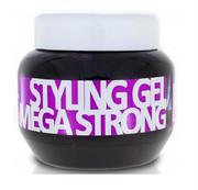 KALLOS Styling Gel żel do stylizacji włosów Mega Strong 275ml KALLOS COSMETICS