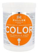 KALLOS COSMETICS Color maska do włosów farbowanych dla kobiet 1000ml KALLOS COSMETICS