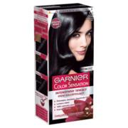 GARNIER Color Sensation farba do włosów 1.0 Głęboka Onyksowa Czerń GARNIER