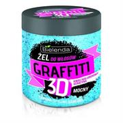 BIELENDA Graffiti 3D mocny żel do stylizacji włosów z kwasem hialuronowym i keratyną 250g BIELENDA