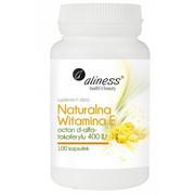 Naturalna witamina E (100 kapsułek) Aliness MedicaLine