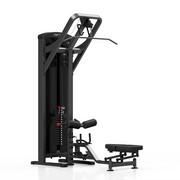Maszyna 2-w-1 wyciąg górny i dolny MP-U211 - Marbo Sport - czarny \ antracyt metalic Marbo Sport