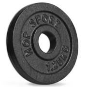 Obciążenie żeliwne 1,25 kg - Hop Sport - 1,25 kg Hop-Sport
