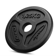 Obciążenie żeliwne 1,25 kg SLIM MW-O1,25-slim - Marbo Sport - 1,25 kg Marbo Sport