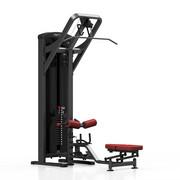 Maszyna 2-w-1 wyciąg górny i dolny MP-U211 - Marbo Sport - bordowy \ antracyt metalic Marbo Sport
