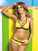 Żółte bikini z 2 parami majtek Obsessive Papaya