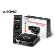 Elmak Odtwarzacz multimedialny SAVIO TB-P01 Smart TV Box Premium Elmak