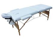 Stół, łóżko do masażu 3 segmentowe MT-11 Creme