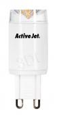 Żarówka LED ActiveJet AJE-MC4G9 SMD 300lm 4W G9 barwa biała ciepła