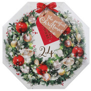 The Perfect Christmas - Zestaw Kalendarz adwentowy - 24 tealighty + świecznik Yankee Candle