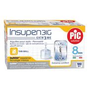 Igły do penów insulinowych Insupen 31G 0,25 x 8mm 100szt. PiC Solution