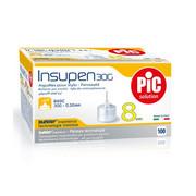 Igły do penów insulinowych Insupen 30G 0,30 x 8mm 100szt. PiC Solution