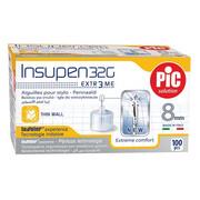 Igły do penów insulinowych Insupen 32G 0,23 x 8mm 100szt. PiC Solution