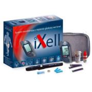 iXell Glukometr zestaw z paskami, nakłuwaczem i penem iXell