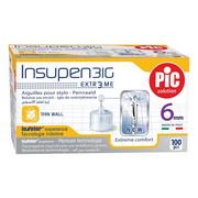 Igły do penów insulinowych Insupen 31G 0,25 x 6mm 100szt. PiC Solution