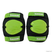 Kawasaki Kit Knee and Elbow Pads - Ochraniacze na łokcie lub kolana (czarny/zielony)