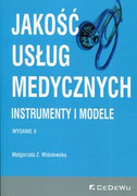 9788381020770 Jakość usług medycznych Instrumenty i modele Wiśniewska Małgorzata Z. CeDeWu