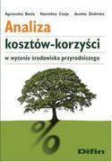 Analiza kosztów-korzyści w wycenie środowiska przyrodniczego