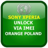 Odblokowanie SonyEricsson Sony Xperia kodem Orange Polska