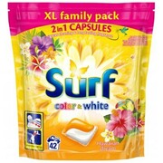 Kapsułki do prania SURF Hawaian Dream Białe i kolorowe tkaniny 42 szt. OUKITEL