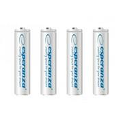 Akumulatorki AAA Esperanza 1000mAh 4szt. białe Esperanza