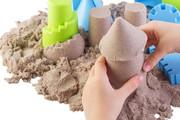 Polski piasek kinetyczny NaturSand 1 kg Nefere zabawki piasek