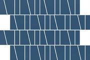 Cersanit Zambezi Blue Trapeze Mosaic Matt Mozaika ścienna 20x29,9 cm, niebieska WD942-015 - odbiór osobisty: Kraków, Świebodzin Cersanit płytki