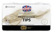 Ronney PROFESSIONAL TIPS CLAWS CREAM Tipsy szpony z dużą kieszonką, kremowe (120 szt.)