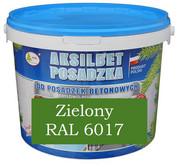 AKSILBET POSADZKA ZIELONY RAL6017 0,7L - farba do betonu