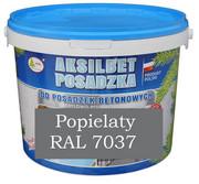 AKSILBET POSADZKA POPIELATY RAL7037 0,7L - farba do betonu