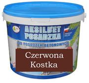 AKSILBET POSADZKA CZERWONA KOSTKA 0,7L - farba do betonu