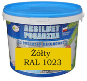 AKSILBET POSADZKA ŻÓŁTY RAL1023 0,7L - farba do betonu