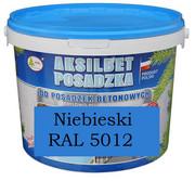 AKSILBET POSADZKA NIEBIESKI RAL5012 0,7L - farba do betonu