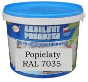 AKSILBET POSADZKA POPIELATY RAL7035 0,7L - farba do betonu