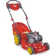 WOLF-Garten 4008423882315 bez kategorii, kosiarka do trawy Czerwony/Żółty, Walk behind lawn mower, 46 cm, 2,8 cm, 9,2 cm, 60 L, 4 koło (koła)