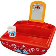 BIG 800056809, Bathroom sink Czerwony/Żółty