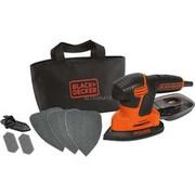 BLACK+DECKER KA2000 120 W, Szlifierki Delta Orange/Czarny, 14000 RPM, Prąd przemienny, 120 W, 230 V, 2 mm, 135 x 95 mm
