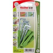 fischer UX GREEN 8x50 R WH K, Dowel Zielony