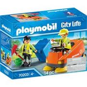 PLAYMOBIL City Life 70203 zestaw zabawkowy, Zabawki konstrukcyjne Akcja/Przygoda, 4 rok/lata, Chłopak, dziewczyna, Wielobarwność, Wewnątrz, Ludzie