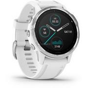 """Garmin fēnix 6S inteligentny zegarek 3,05 cm (1.2"""") Czarny, Biały GPS, SmartWatch Biały/Srebrny, 3,05 cm (1.2""""), Ekran dotykowy, 0,064 GB, GPS, 58 g, Czarny, Biały"""