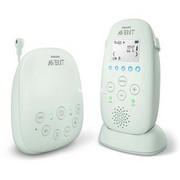 Philips Elektroniczna niania DECT: 100% prywatności i brak zakłóceń, Telefon dla dziecka szary, 330 m, 50 m, Biały, LCD, Prąd przemienny, Bateria, Alkaliczny