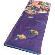 Easy Camp Image Kids Aquarium Rectangular sleeping bag Poliester Wielobarwność Fioletowy, 700 mm, 160 cm, 800 g, 320 mm, 200 mm
