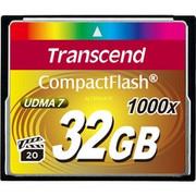 Karta pamięci Compact Flash Transcend 32GB 1000x