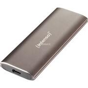 Intenso 3825440 Zewnętrzny dysk SSD 250 GB Brązowy Brown, 250 GB, USB Typu-A, 3.2 Gen 2 (3.1 Gen 2), 800 MB/s, Brązowy