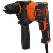 BLACK+DECKER BEH550K, Wiertarke udarowa Orange/Czarny